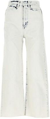 Proenza Schouler Wide Leg Denim Jeans