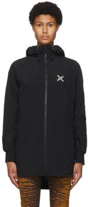 Kenzo Black Sport Little X Lightweight Jacket