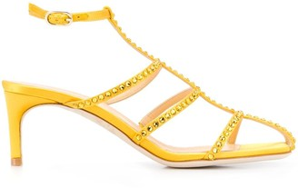 Giannico Open-Toe Strapped Sandals