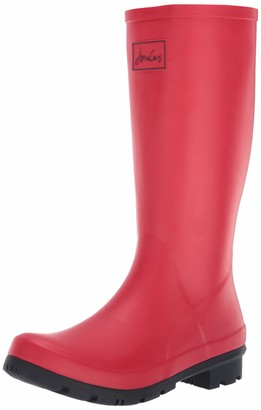 Joules Women's Roll Up Welly Rain Boot