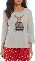Sleep Sense Deer in Sweater Sleep Top