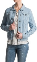 Max Jeans Railroad Trucker Jacket (For Women)