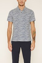 Forever 21 Zigzag Print Shirt