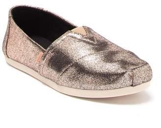 Toms Alpargata Crackle Metallic Sneaker