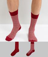 Levis Socks 2 Pack Sock In Stripe