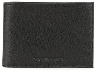 Emporio Armani Logo Wallet And Keyring Set