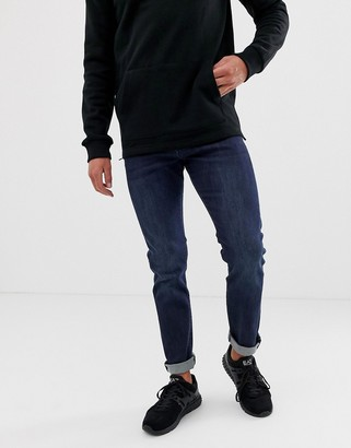 Armani Exchange J13 slim fit mid dark wash jeans