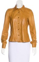 Prada Lightweight Leather Jacket