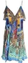 Camilla Embellished Printed Silk Dress