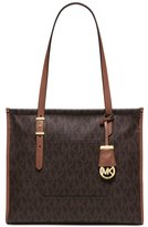 MICHAEL Michael Kors Darien Medium Tote Brown/Peanut