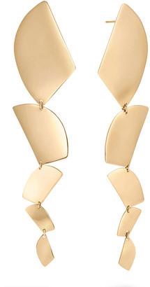 Lana 14k Gold 5-Shape Linear Drop Earrings