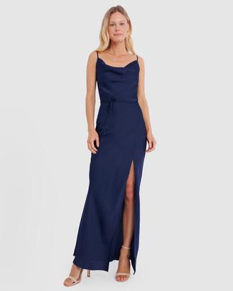 Forcast Racquel Cowl Neck Maxi Dress
