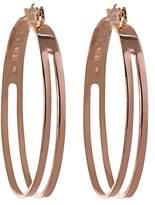 BCBGeneration BCBG Generation 2 Row Hoop Earrings