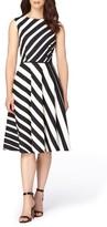 Tahari Petite Women's Stretch Fit & Flare Dress