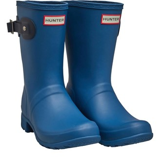 Hunter Womens Tour Short Wellington Boots Nimbus Navy
