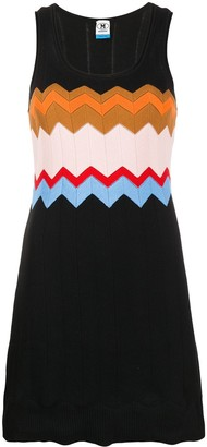 M Missoni Chevron-Knit Dress