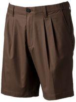 Croft & Barrow Men's Stretch Easy-Care Flex-Waistband Pleated Shorts