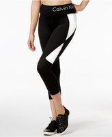 Calvin Klein Colorblocked Capri Leggings
