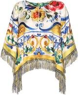 Dolce & Gabbana Printed Silk Top
