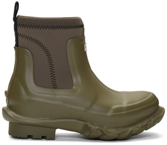 Stella McCartney Green Hunter Edition Rain Boots