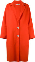 Marni classic coat - women - Cashmere/Alpaca/Virgin Wool - 40