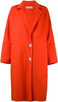 Marni classic coat - women - Cashmere/Alpaca/Virgin Wool - 42