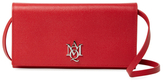 Alexander McQueen Insignia Mini Leather Convertible Crossbody