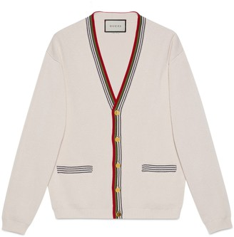 Gucci Knit cotton cardigan