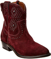 Frye Billy Stud Short Suede Boot