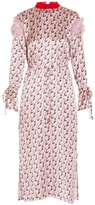 Mother of Pearl Rose Mary Printed Dress