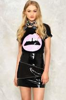 Nasty Gal nastygal Give 'Em Lip Sequin Tee
