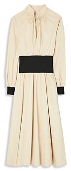 Tory Burch Rib Knit Trim Dress