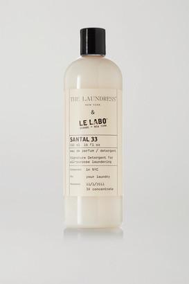 The Laundress + Le Labo Santal 33 Signature Detergent, 475ml - White