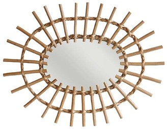 Hk Living HK Living - Willow Oval Wall Mirror - willow | natural - Natural/Natural