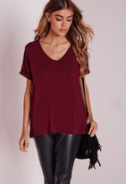 Burgundy Shirts For Women