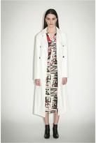 Sonia Rykiel Faux Leather Trench Coat