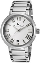 Marbella Women's Stainless Steel & White Dial Round Watch