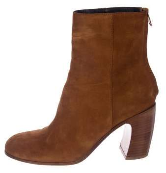 Ann Demeulemeester Suede Ankle Booties