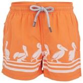 Vilebrequin Orange Pelican Trunks