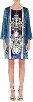 Mary Katrantzou WOMEN'S ANCHOR- & GEM-CREATURE-PRINT SHIFT DRESS