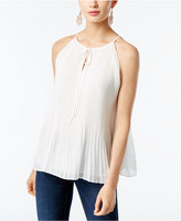 INC International Concepts Pleated Halter Top, Only at Macy's