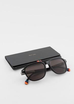 Paul Smith Black 'Duke' Sunglasses
