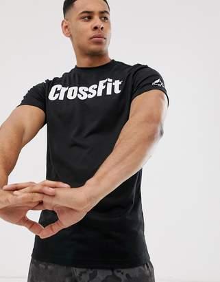 Reebok Crossfit logo t-shirt in black