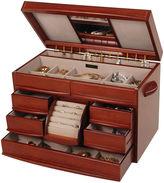 Mele Walnut Finish Jewelry Box