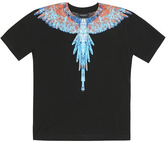 Marcelo Burlon Kids Of Milan Wings cotton T-shirt