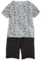 Amy Coe Infant Boys' Skull Print Tee & Shorts Set - Sizes 12-24 Months