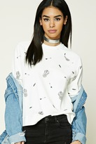 Forever 21 Dreamcatcher Graphic Sweatshirt