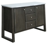 "Bronx Saffr Walden 54"" Wide 3 Drawer Sideboard Ivy"