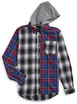 Tommy Hilfiger Hooded Flannel Sport Shirt