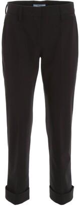 Prada Tailored Cropped Pants
